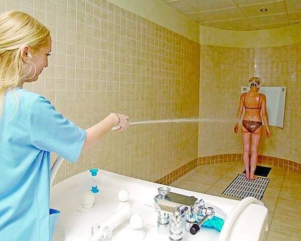 Процедура для похудения клизма в салоне